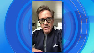 Robert Downey Jr. sends special message to teen shark attack victim