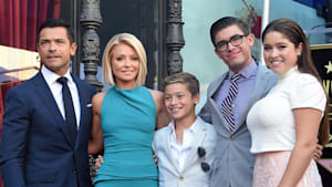 Kelly Ripa & Mark Consuelos' share a family mishap