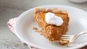 How to make vegan pumpkin pie