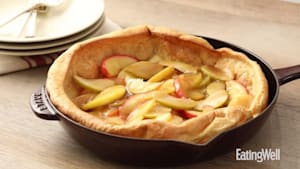 How to make apple puffed oven pancake