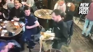 Bartender spills two trays of beer in worst day ever