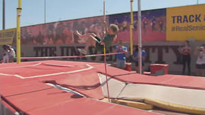 85-year-old pole vaulter sets record