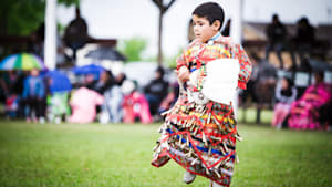 Everyone Bow Down To This Kid's Amazing Powwow Moves