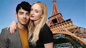 Sophie Turner & Joe Jonas show PDA in France