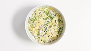 Sour cream 'n' onion potato salad