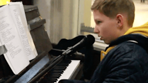 12-year-old plays piano to raise over $30,000 for diabetes