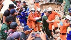 Kambodscha: Mindestens 24 Tote nach Gebäudekollaps