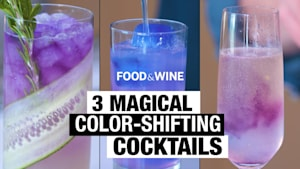 3 magical color-shifting cocktails
