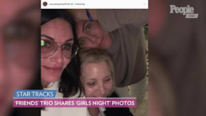 'Friends' actresses have a 'girls night'