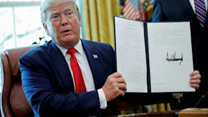 "Trump verhängt neue, ""knallharte"" Iran-Sanktionen"