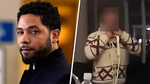 Video of Jussie Smollett with rope around neck released by police