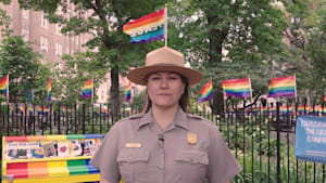 Meet the veteran serving as 1st Stonewall park ranger