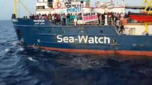 """Rettungsschiff """"Sea-Watch 3"""" darf nicht in Italien anlegen"""