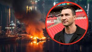 SOS von seiner Jacht: Wladimir Klitschko wird von Feuer überrascht