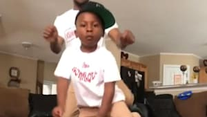 Father-son duo have the best educational dance parties