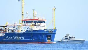 """Trotz Verbot: """"Sea Watch 3"""" fährt in italienische Gewässer ein"""