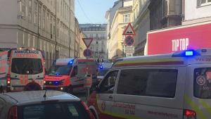 Explosion in Wien: Mindestens 4 Schwerverletzte