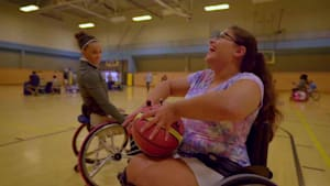 Teen surprised with special sports wheelchair