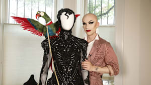Drag queen Sasha Velour gets ready for Pride