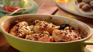 How to make chicken with prunes and olives