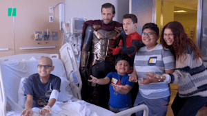 Spider-Man' cast surprises children's hospital | Good News