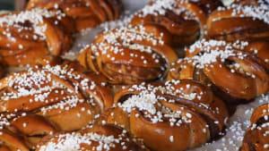 Swedish bakery makes 25k cinnamon rolls per week