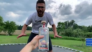 YouTuber faceplants after trying viral challenge