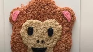 Dessert artist uses Rice Krispies to create art