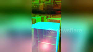 Mesmeric 'infinity cube' is actually a lamp