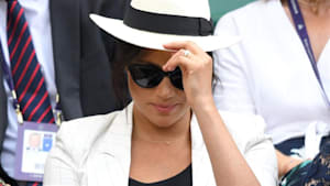Meghan Markle didn't allow photos at Wimbledon