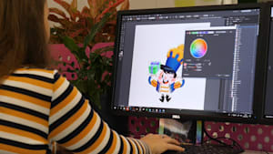 Candy Crush artist turned her passion into a job