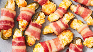 Bacon-wrapped pickles for every pickle-lover