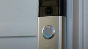 Doorbell doubles as a high tech security camera
