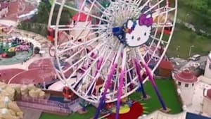 Look at this huge Hello Kitty theme park in China