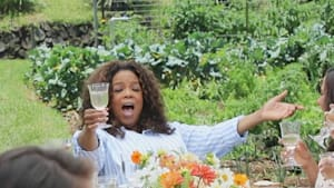 How Oprah spends her downtime
