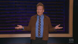 Conan O'Brien scrambles after guest cancels