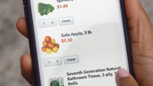 Order fresh food from your phone and have it delivered straight to your door with Amazon Fresh