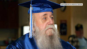 Vietnam War vet, 78, receives high school diploma