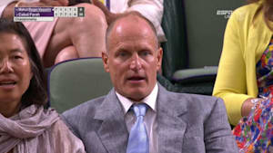 Woody Harrelson becomes a Wimbledon meme