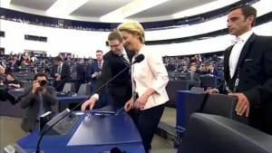 Von der Leyen kämpft um die Mehrheit in Straßburg