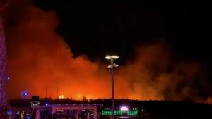 Brand auf kroatischer Insel Pag