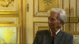 Wegen EZB-Kandidatur: Lagarde tritt als IWF-Direktorin zurück