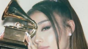 Ariana Grande: Endlich bekommt sie ihren Grammy Award