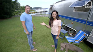 America is this couple's backyard after moving into their motor home