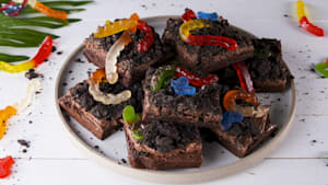Timon and Pumba would love these grub brownies