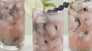 This blueberry mojito is the perfect summer cocktail