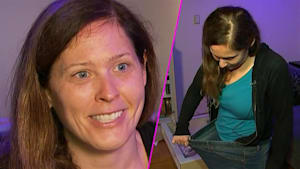 Inspiring woman lost half her weight and a bad ex