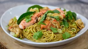 Make these lobster ramen noodles