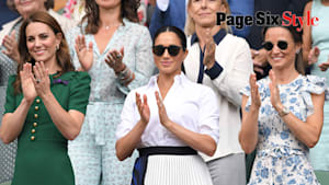 Meghan Markle & Kate Middleton fashion moments