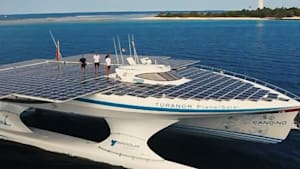 This is the world's largest solar-powered boat